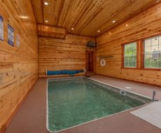 cabins with private pools
