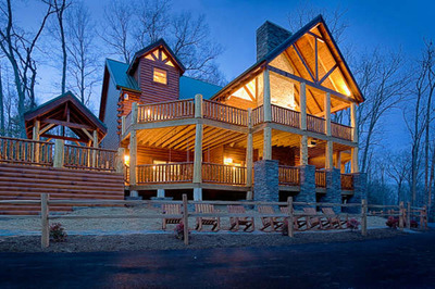 six to nine bedroom cabins