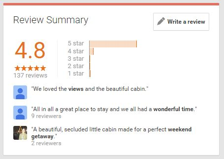 google plus reviews about American Patriot Getaways