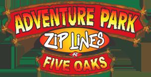 FIVE OAKS ADVENTURE PARK logo