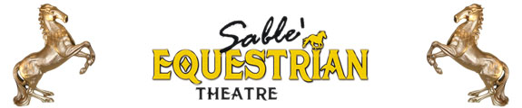 Sable' Equestrian Theatre logo