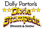 Dolly Parton's Dixie Stampede and Lumberjack Dinner and Show in Pigeon Forge logo