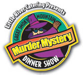 Murder Mystery Dinner Show in Pigeon Forge logo
