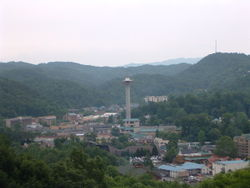 Gatlinburg has burgeoned into a popular tourist destination due to the inception of the GSMNP, which borders the community.